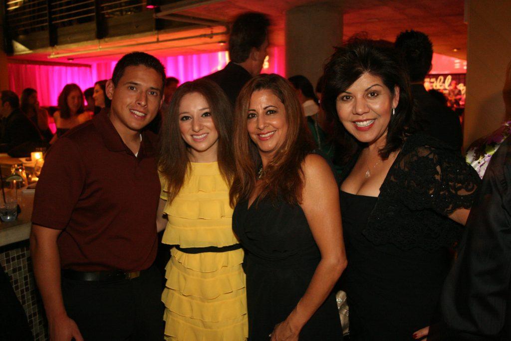 Jose Magadan, Raquel Alba, Geri Ibarra and Berenice Zamaro.JPG