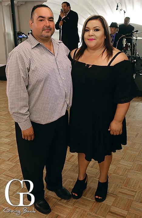 Jose Bautista and Vanessa Rojas