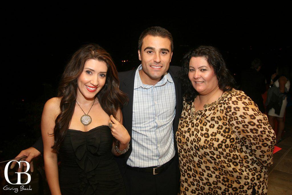 Jose Fernandez with friends