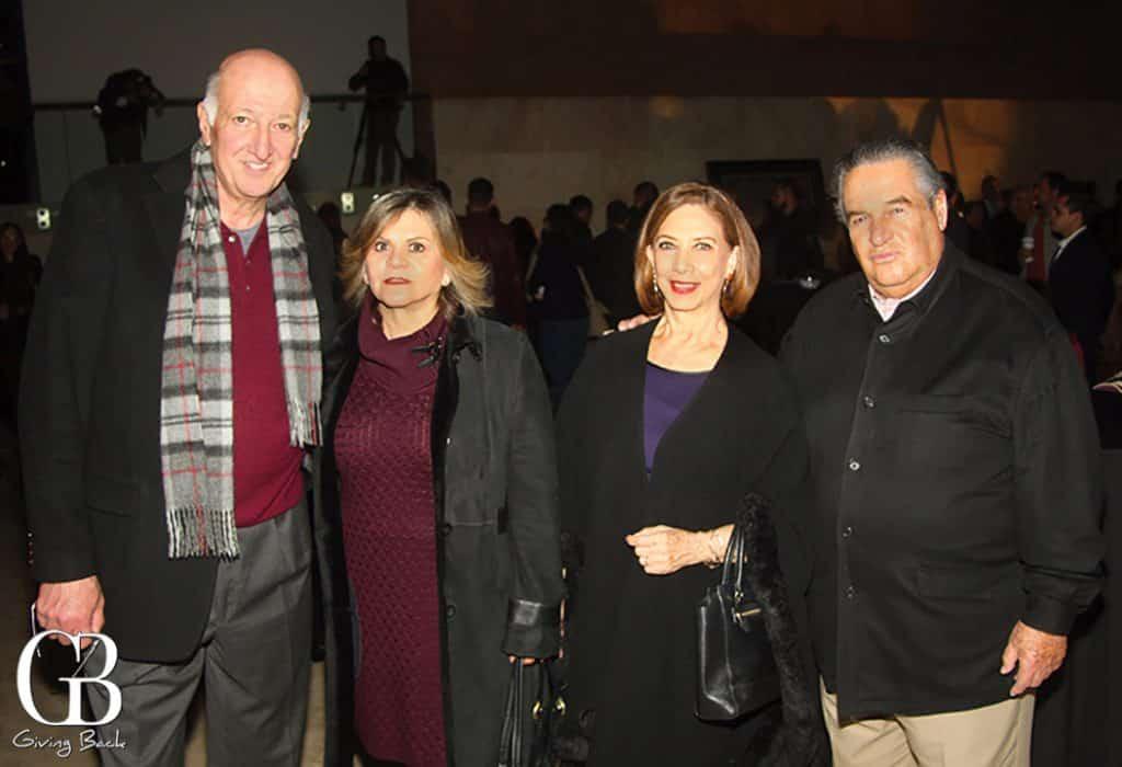 Jose Luis y Maria Dolores Haddad con Lourdes y Jorge Barreto