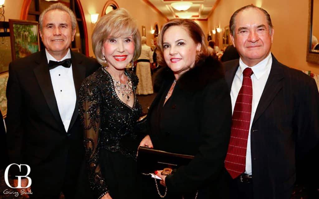 Jose and Emelia Moreno with Susana and Raul Flores