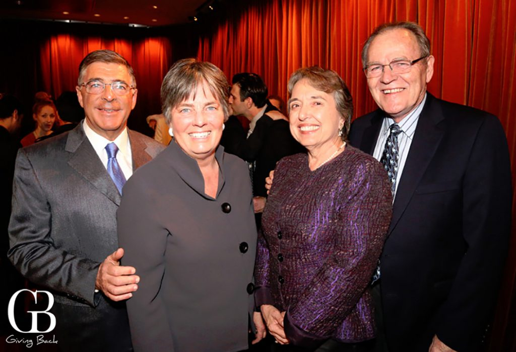 Joseph Cohen  Mathra Farish with Pam and Hal Fuson