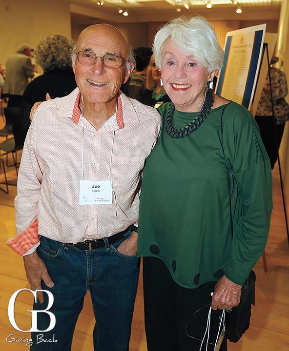 Joseph Fisch and Joyce Axelrod