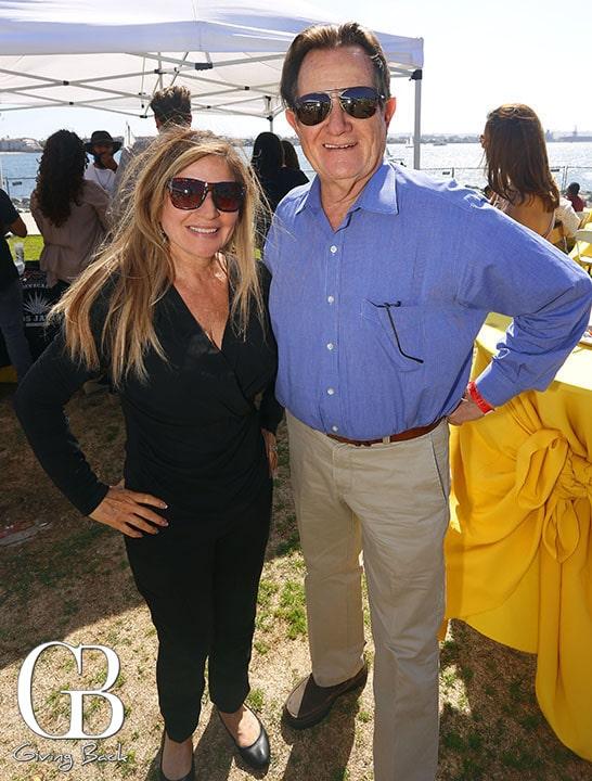 Josie Flores Clark and Mayor Ron Morrison