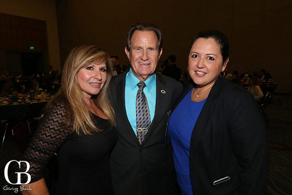Josie flores Clark  Mayor Ron Morrion and Nora Vargas