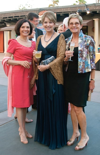 Joy Vaccari, Kim Butterwick and Marge Schmale