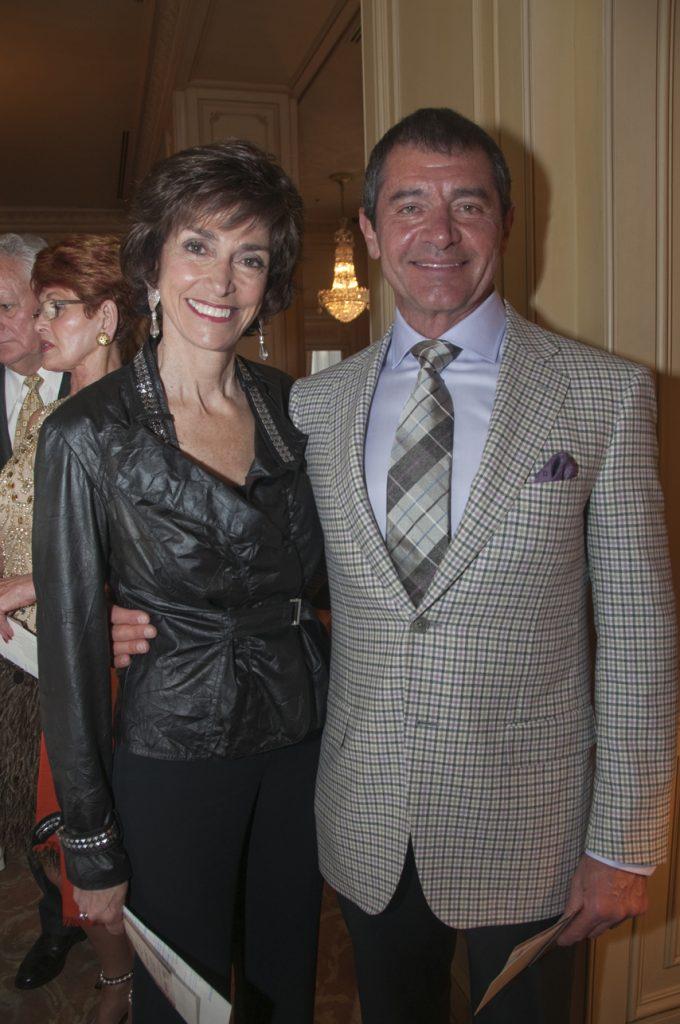 Joyce Gattas and Carlos Malamud