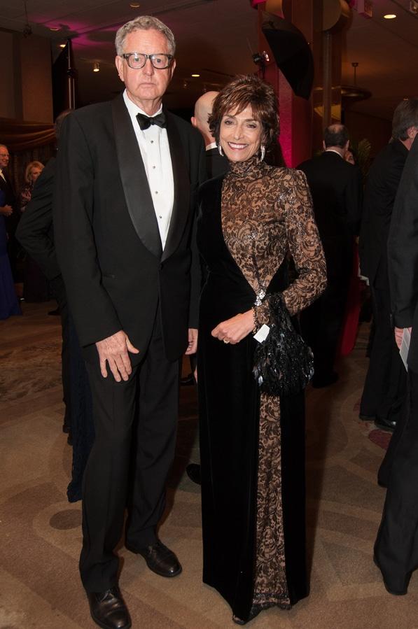 Joyce Gattas and Jeff Dunigan