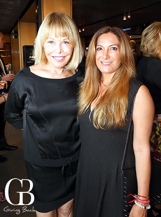 Joyce Schneider and Lorenza Vildosola