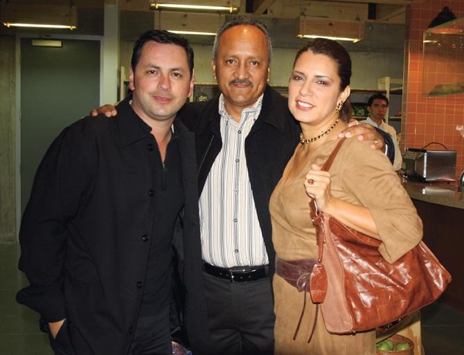 Juan Carlos Caro, Teo Mimbrera y Maru Diaz Gonzalez