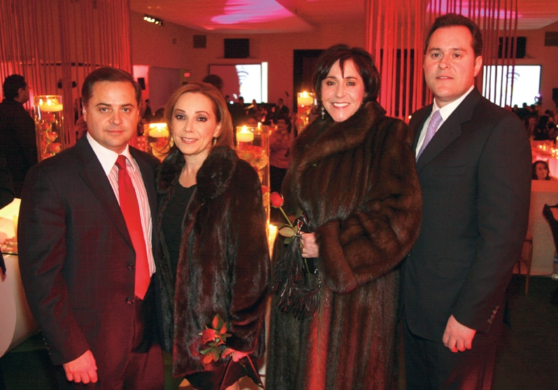 Juan Carlos and Cecilia Herrera with Silvia and Mauricio Fernandez.JPG