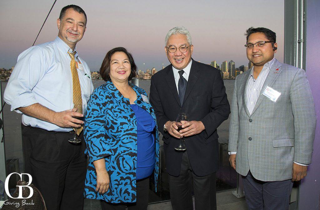 Juan Carlos Hernandez  Susan Delos Santos  Joe Garbanzos and Adi Satsangi