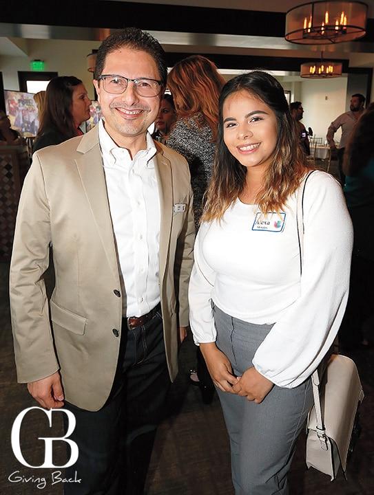 Juan Cedeno and Alexa Morales