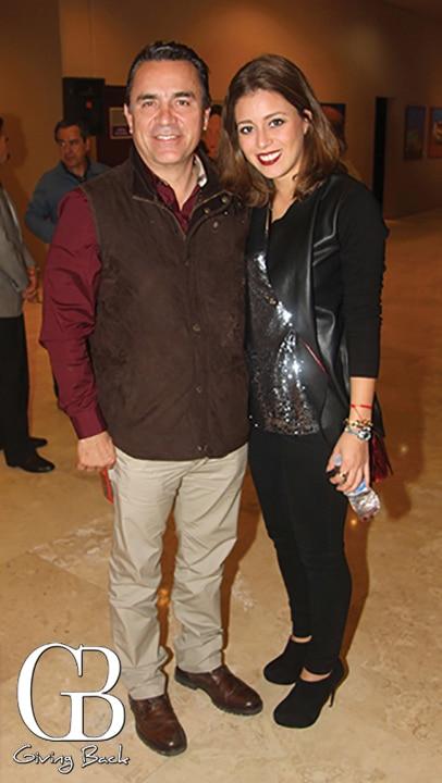 Juan Manuel y Paulina Amaya