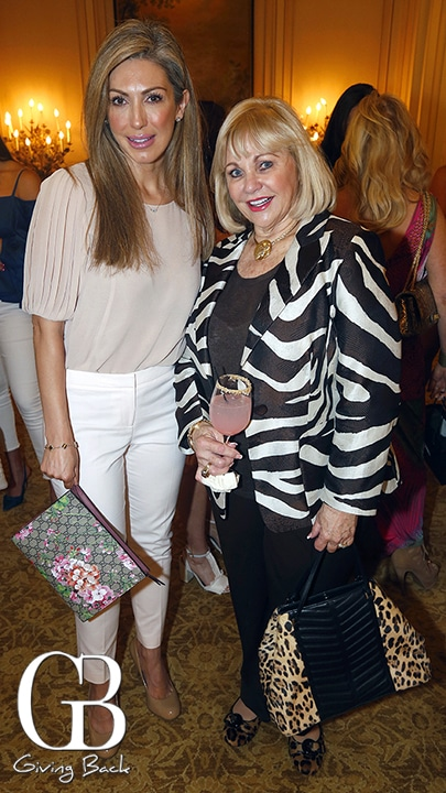 Juanita De La Torre and Jeanne Larson