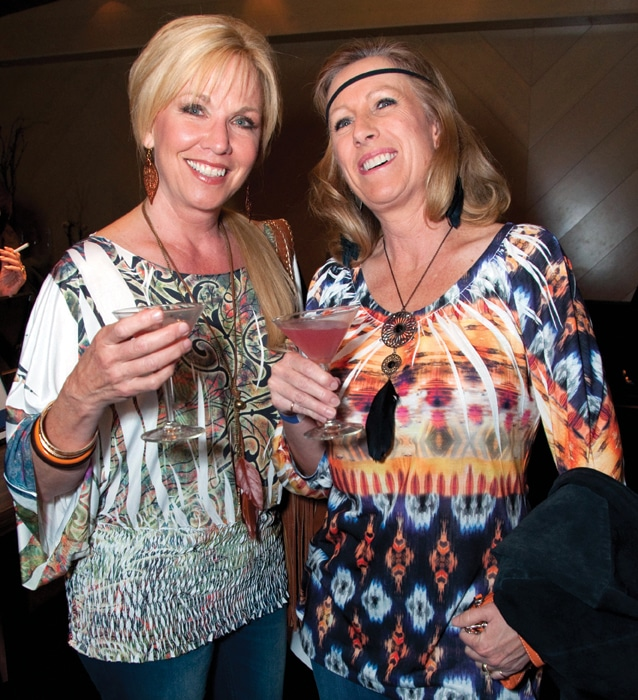Judy Forrester and Rebecca Mcate