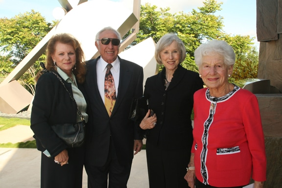 Judy and Peter Corrente with Armi Williams and Lilian Fishman.JPG