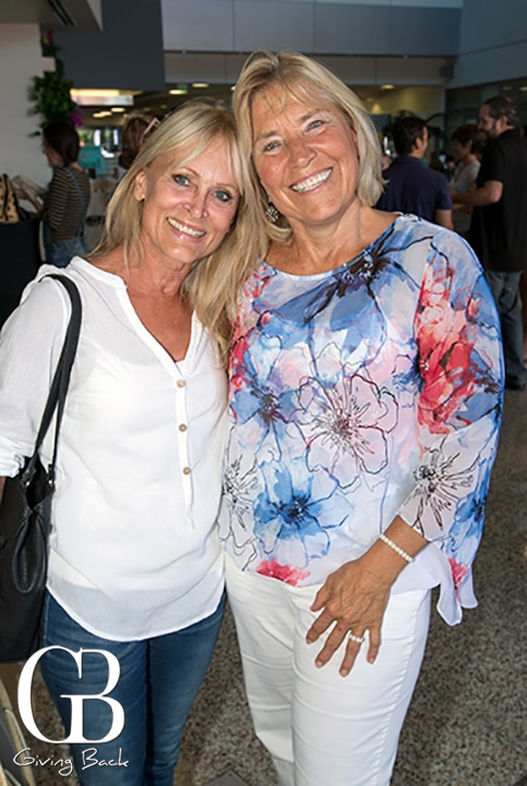 Judy Parker and Donna Monaghan