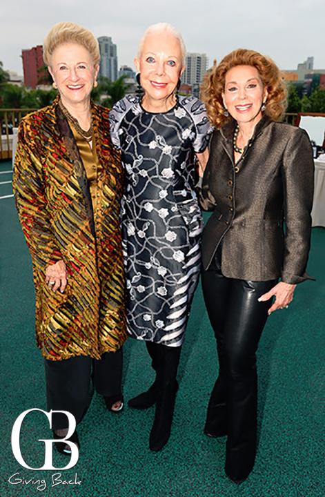 Judy White  Jeanne Jones and Reena Horowitz
