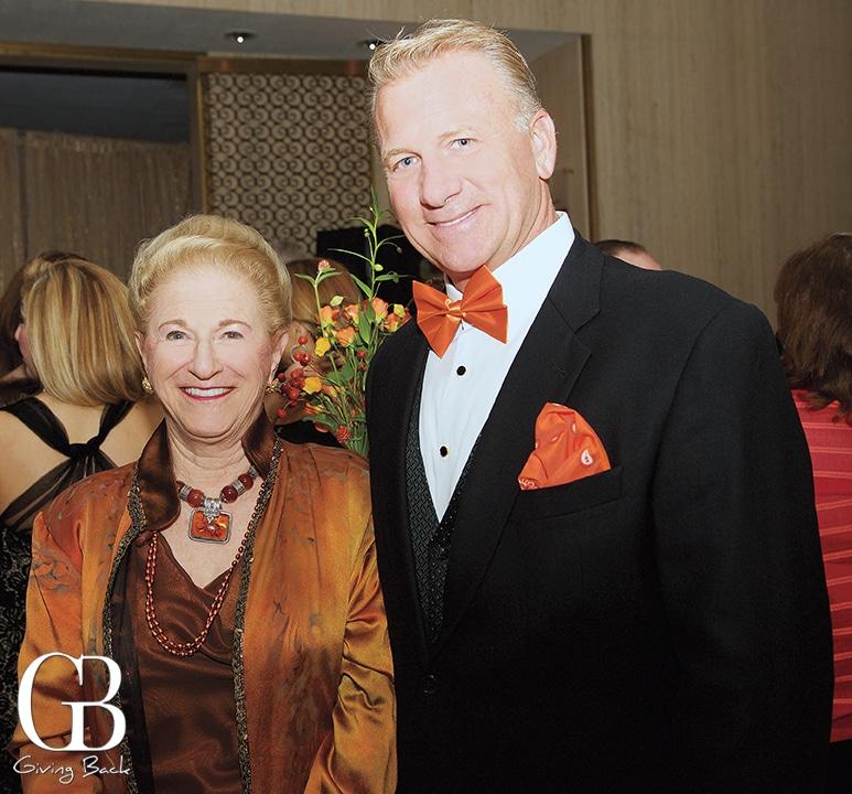 Judy White and Brad Benter