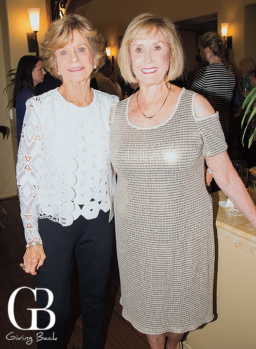 Judy Willoughby and Sherry Money