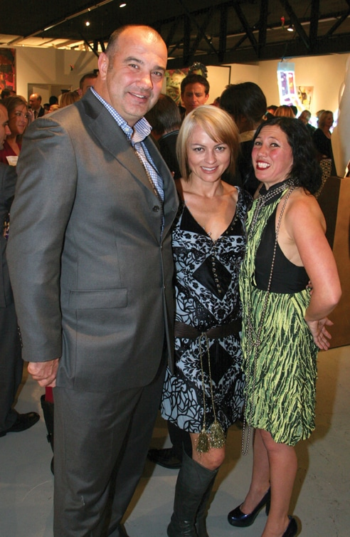 Jules and Michele Arthur with Anjela Piccard.JPG