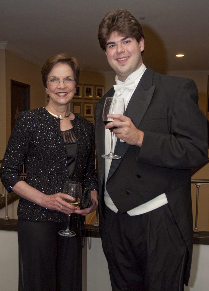Julia Brown and Ben Jaber