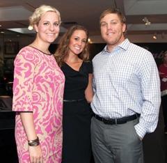 Julia Buchler, Lindsey Kuehner and Ryan Buchler