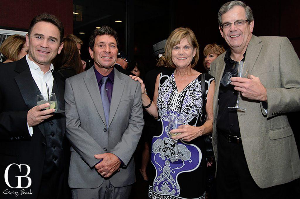 Julian Gollardo  Harold and Joanna Harver with Michael Sciulli
