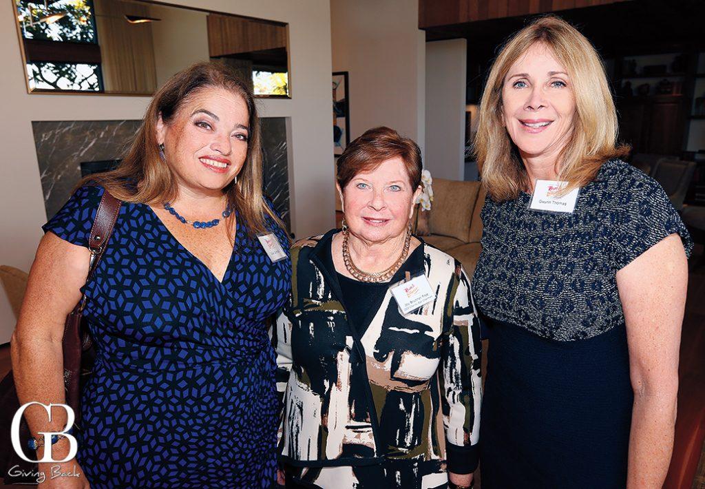 Julie Connolly  Joy Frye and Gwynn Thomas