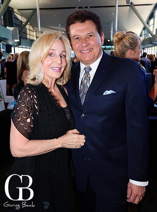 Julie McCabe and Senator Marty Block