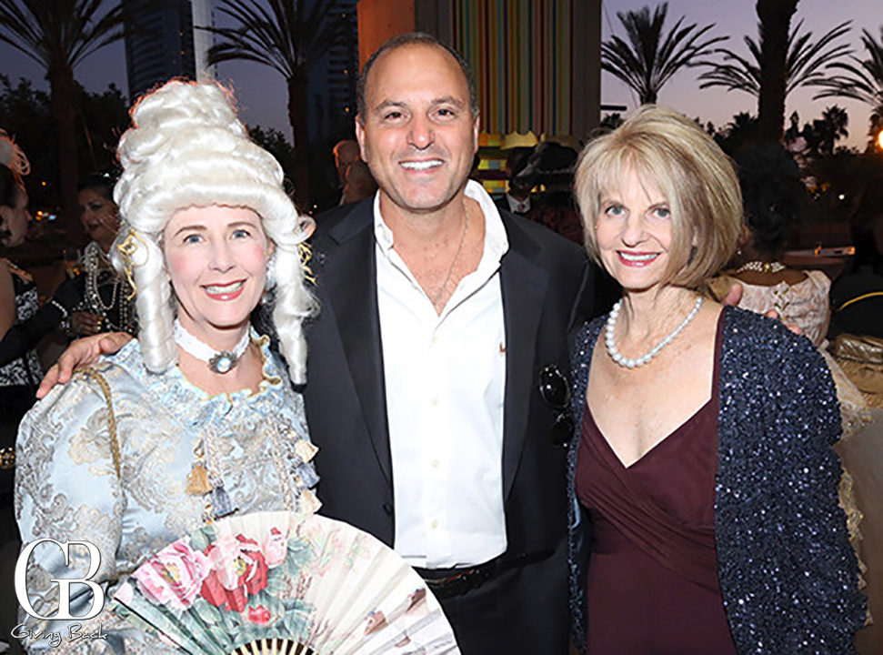 Julie and George Bronstein with Phyllis Epstein