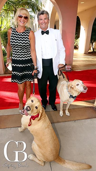 Julie and Joey Giacalone with Kona and Bailey