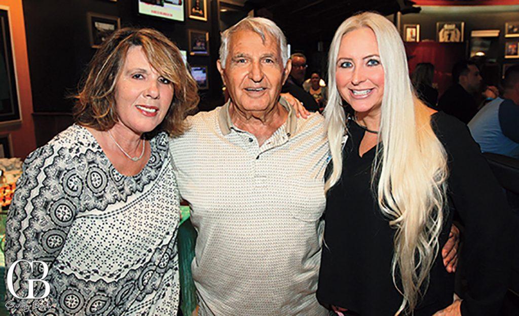 Julie and Tasos Karaginides with Marlena Bradshaw
