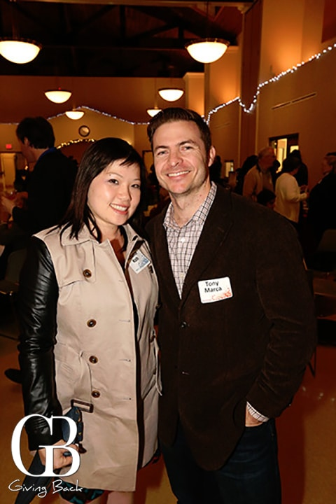 Juliette Koh and Tony Marca