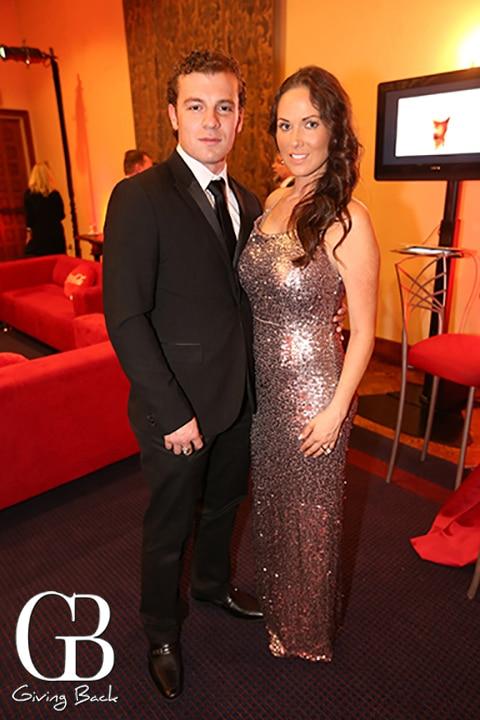 Justin Quiroz and Nina Zatarain
