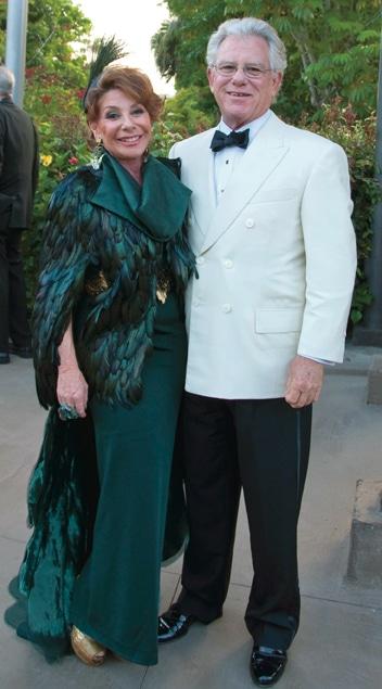Karen Fox and Harvey Ruben