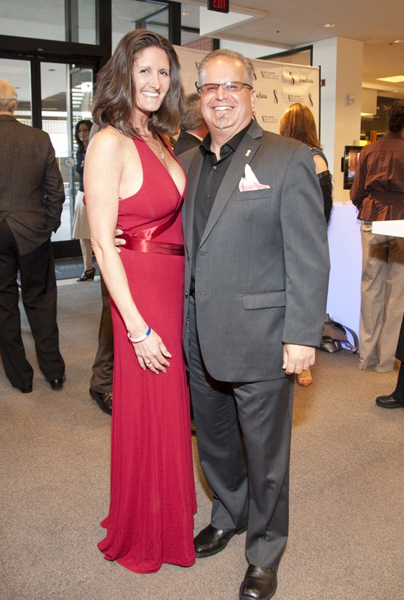 Karen Gauthier and Michael Landesman