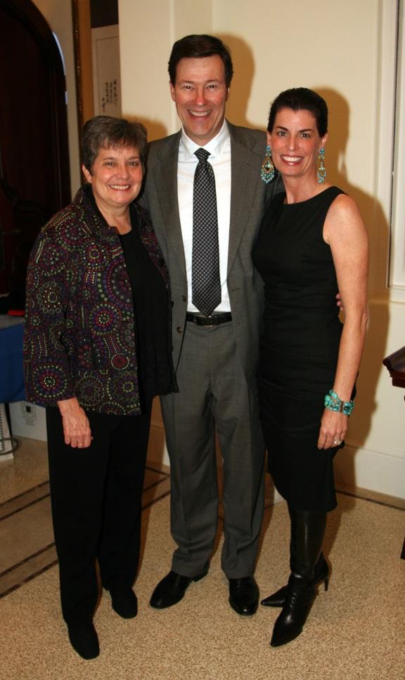 Karen Keltner with Bob and  Maureen Bauchman.JPG