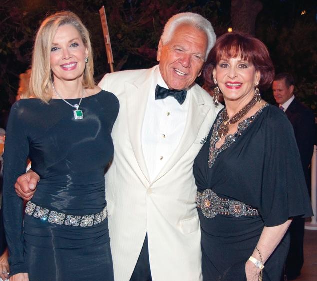Karen and Donald Cohn with Iris Strauss