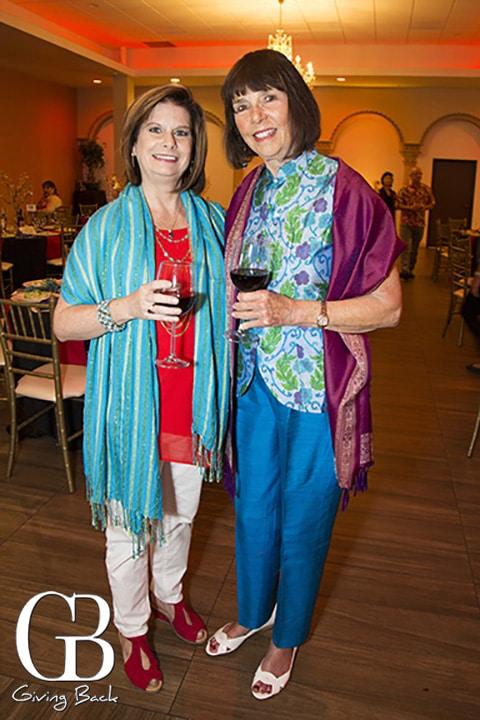 Karen Borowick and Sandy Shrift