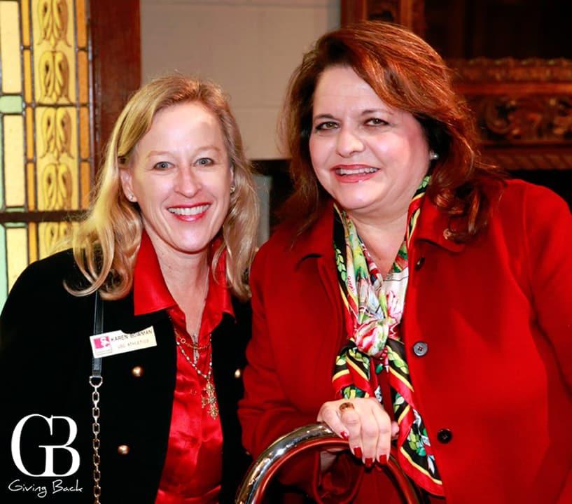 Karen Bowman and Lisa Barkett