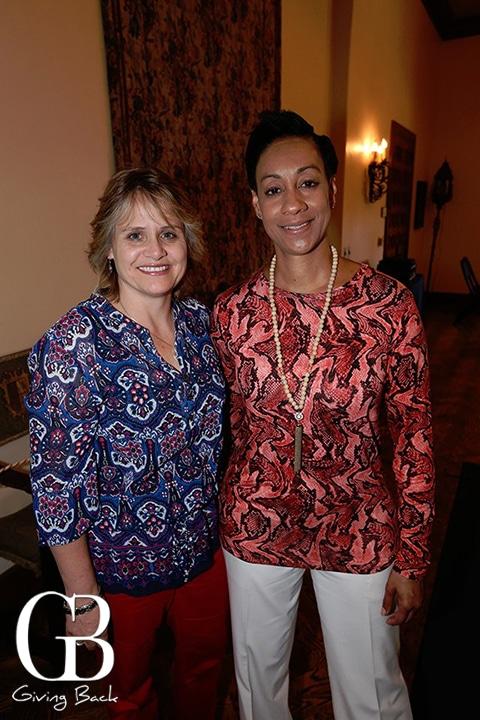 Karen Bucey and Sherrie Lyn Thompson