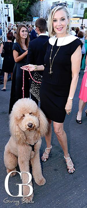 Karen Cohen with Maximilian