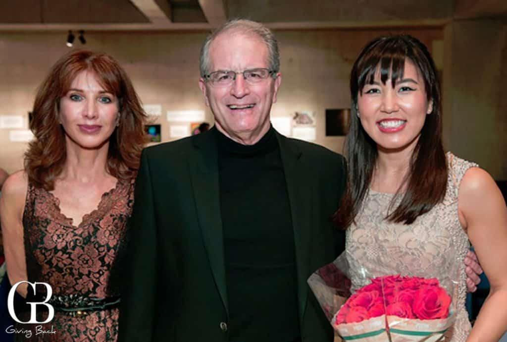 Karen Joy Davis  Tom Albright and Rachel Kudo