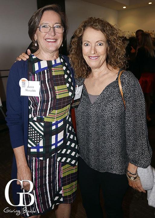 Karen Mercado and Linda Katz