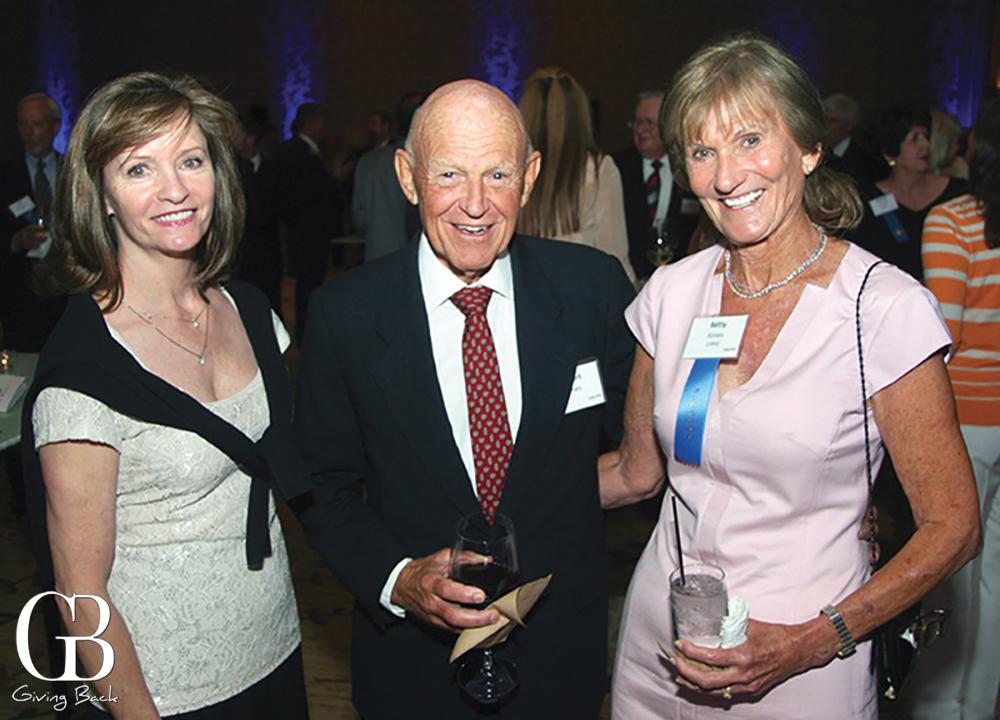 Karen Trimble with Robert and Elizabeth Jones
