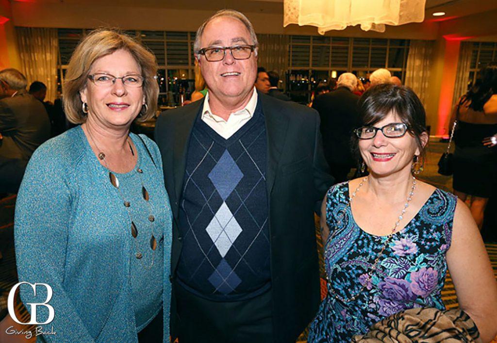 Karen and Richard Cremin with Diane Teter