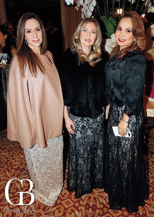 Karla Duran  Liza Duran and Claudia Limon