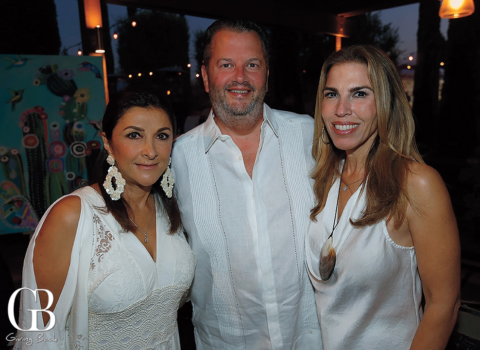 Karla Stanford  David Rhodes and Ana Claudia Trevino